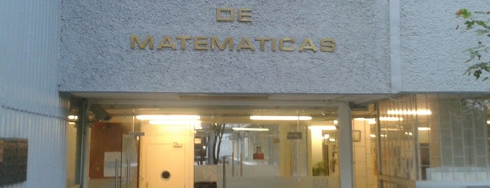 Instituto de Matemáticas is one of Orte, die Mario gefallen.