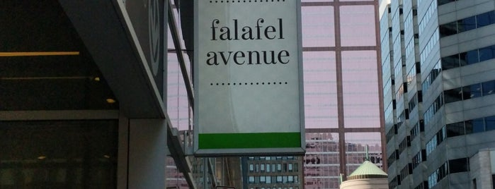 Falafel Avenue is one of Vegan Montreal.