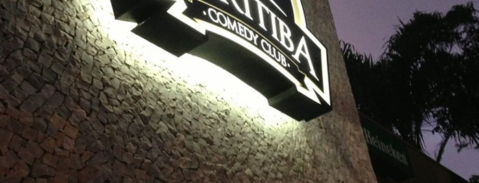 Curitiba Comedy Club is one of Bons lugares.