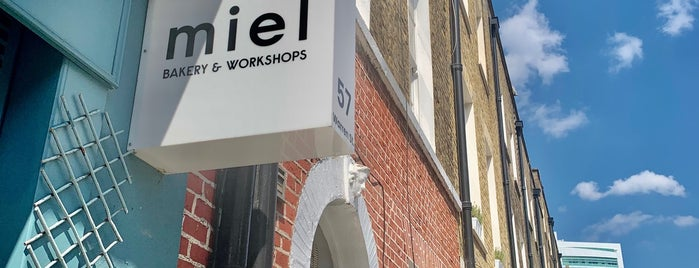 Miel Bakery is one of London v2 🇬🇧.