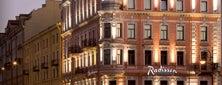 Radisson Sonya Hotel is one of Гостиницы Санкт-Петербурга.