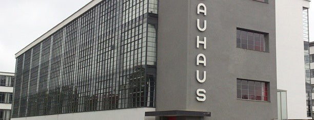 Bauhaus is one of Posti salvati di Michael.