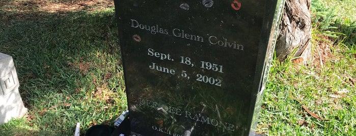 Dee Dee Ramone's Grave is one of Lieux qui ont plu à Chez.