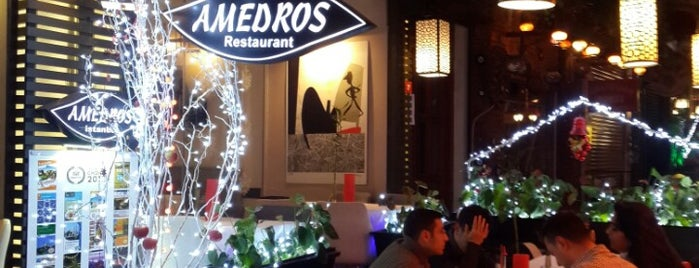 Amedros Cafe & Restaurant is one of Lieux qui ont plu à Merve.