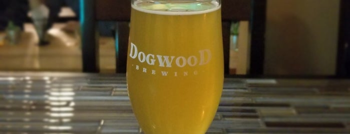 Dogwood Brewery is one of Nick's Liked Places.