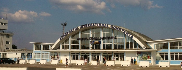 "Aeroportul Internațional ""Mihai Kogălniceanu"" Constanța is one of Airports."