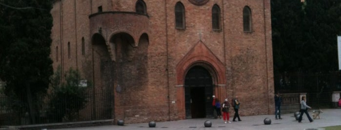 Piazza Santo Stefano is one of Bologna, Italy.