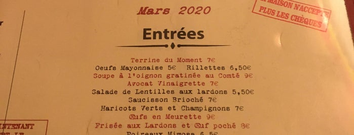 Aux Bons Crus is one of Nyt Paris restaurants.