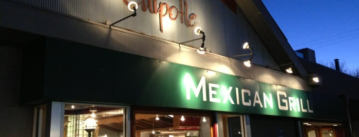 Chipotle Mexican Grill is one of Lieux qui ont plu à Anthony.