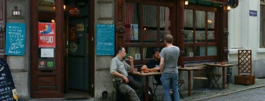 Billie's Bier Kafétaria is one of World's Best Bars and Pubs.