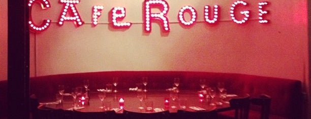 Café Rouge is one of Paris // For Foreign Friends.