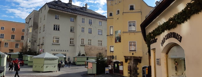 Oberer Stadtplatz is one of Alpes bavaroises et Tyrol autrichien.