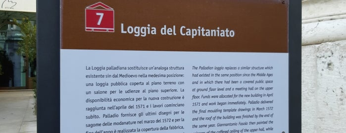 Loggia del Capitaniato is one of Italy.