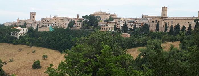 Recanati is one of Riviera Adriatica 3rd part.