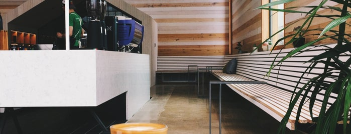 Greater Goods Coffee Roasters is one of ATX // coffee shops.