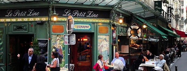 Le Petit Zinc is one of My Favorite Restaurants.