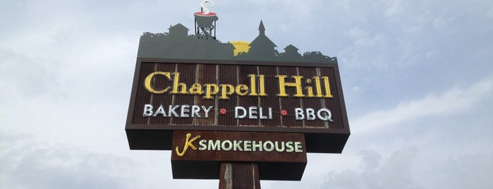 Chappel Hill Bakery & Deli is one of Orte, die Chuck gefallen.