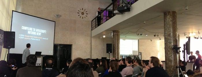 mloc.js Javascript Conference is one of สถานที่ที่ Mate ถูกใจ.