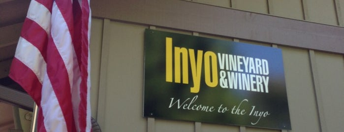 Inyo vineyard & winery is one of Tempat yang Disukai Daniel.