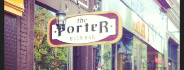 The Porter Beer Bar is one of ATL.