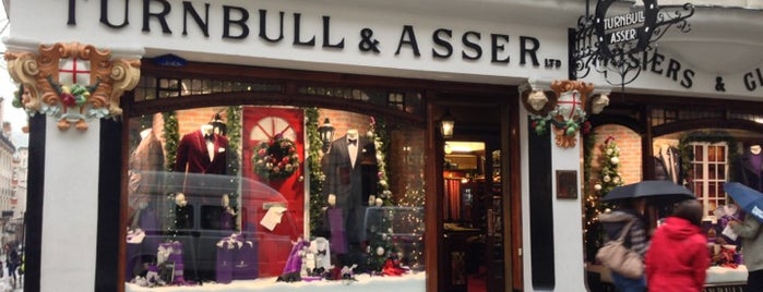 Turnbull & Asser is one of London1.