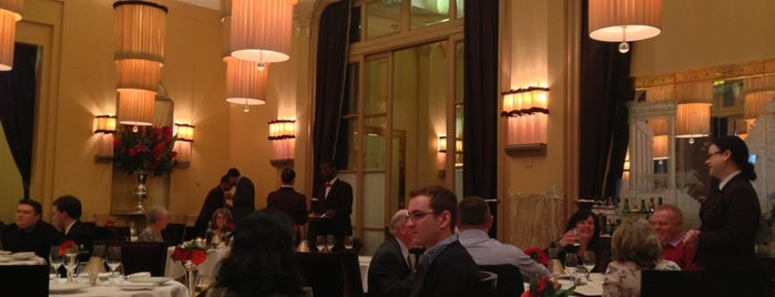 Gordon Ramsay at Claridge's is one of London's great locations - Peter's Fav's.