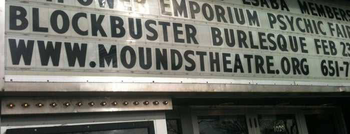 Mounds Theatre is one of Minneapolis & St Paul Music & Event Venues.