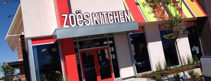 Zoës Kitchen is one of Locais salvos de Jimmy.