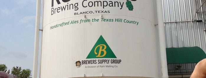 Real Ale Brewing Company is one of The Daytripper's Blanco.