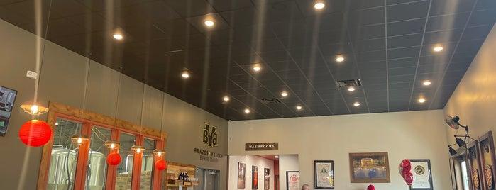 Brazos Valley Brewing Company is one of Austin Bucketlist.