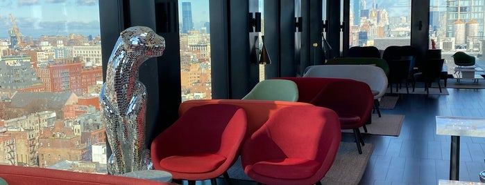 citizenM Bowery is one of Rooftops.