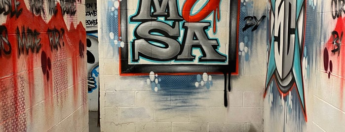 Museum of Street Art (MOSA) is one of Arts / Music / Science / History venues.