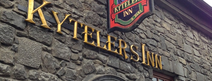 Kyteler's Inn Restaurant & Bar is one of Irland.