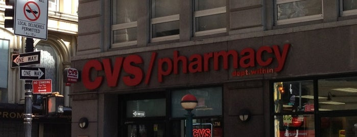 CVS pharmacy is one of Tempat yang Disukai Mei.