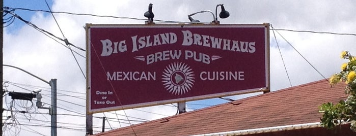 Big Island Brewhaus is one of Lugares favoritos de Scott.