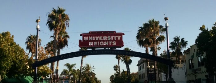 University Heights is one of Bikabout San Diego.