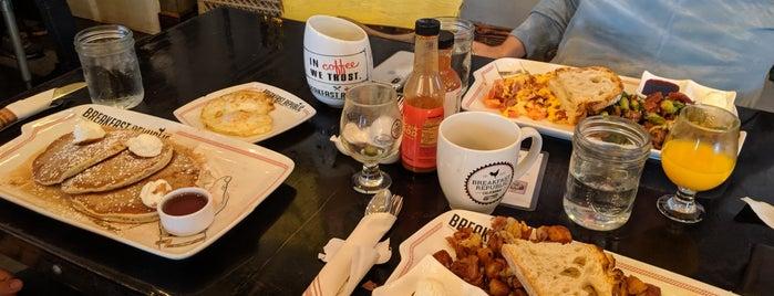 Breakfast Republic is one of Recs from Friends.
