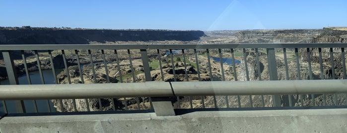 Perrine Bridge Scenic Overlook is one of Orte, die IrmaZandl gefallen.