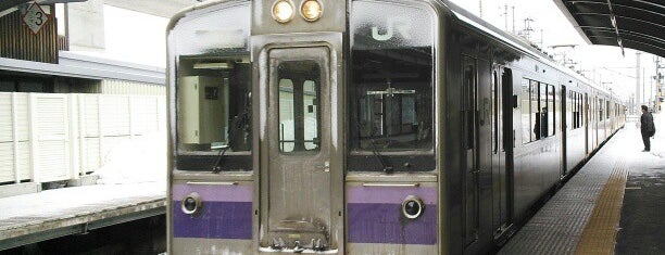 青山駅 is one of Akira's Railways Station(鉄の道).