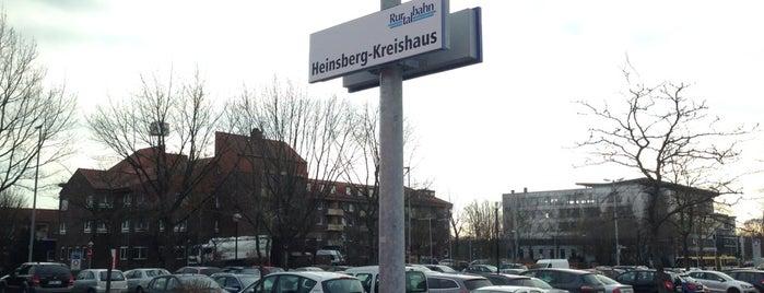 Bahnhof Heinsberg-Kreishaus is one of Bahnhöfe im AVV.