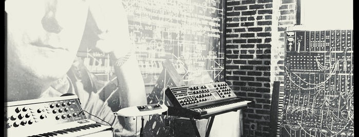 Moog Synthesizer Factory is one of Asheville.
