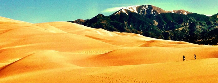 Great Sand Dunes National Park & Preserve is one of SW US Roadtrip.
