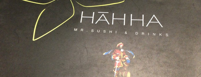 Háhha Mr.Sushi & Drinks is one of Lucy 님이 좋아한 장소.