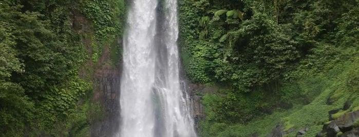 Gitgit Waterfall is one of Ubud.