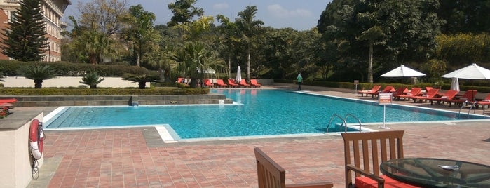Poolside Hyatt Kathmandu is one of Yeti Trail Adventure.