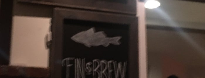 Fin & Brew is one of Food Tour/NY Visit.