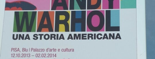Andy Warhol Una Storia Americana is one of Pisa.
