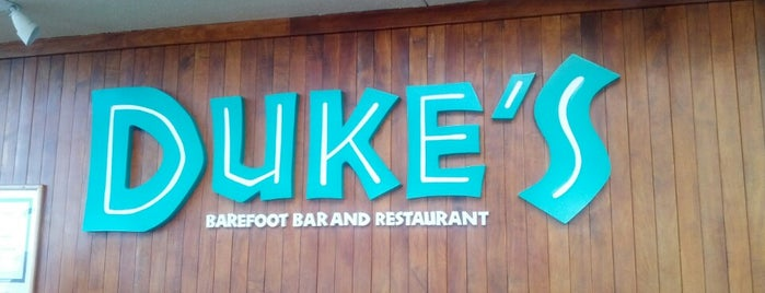 Duke's Barefoot Bar is one of Favorite Local Kine Hawaii.