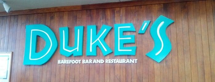 Duke's Barefoot Bar is one of Oahu.