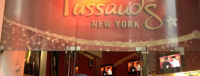 Madame Tussauds is one of New York the definitive list.